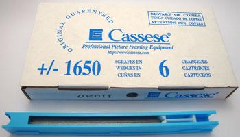 S23 - Klamry Cartridge 10 mm do miękkiego drewna Cassese