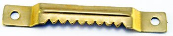 Zestaw 100 sztuk - K17 Zawieszka ząbkowana na wkręty