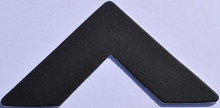 872 Black Passe-Partout (paspartu) karton dekoracyjny Slater Harrison