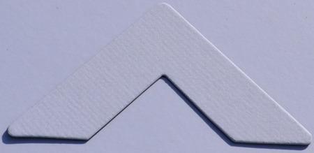 Colourmount 411 Chalk White Passe-Partout (paspartu) karton dekoracyjny Slater Harrison