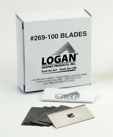 Ostrza Logan 269 do wycinania passe-partout - 100 sztuk