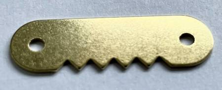 ZA20 Zawieszka płaska ząbkowana na gwoździki